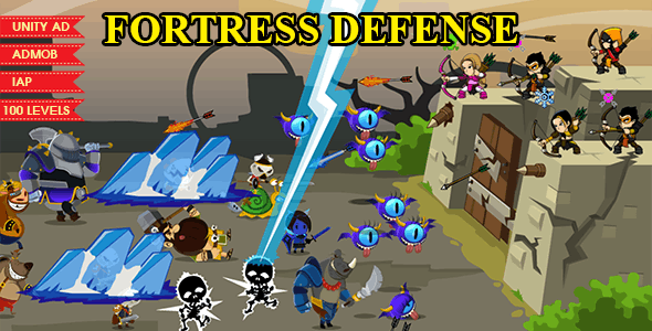 FORTRESS DEFENSE - COMPLETE UNITY GAME
