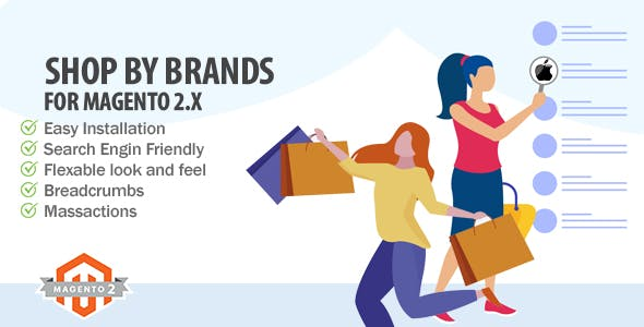 Shop By Brands Extension for Magento 2.x