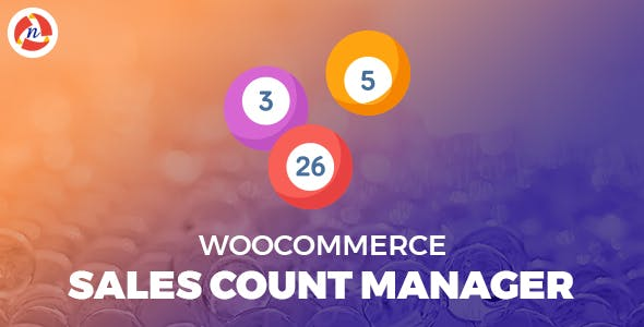 WooCommerce Sales Count Manager