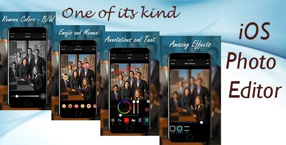 Photo Editor for iOS