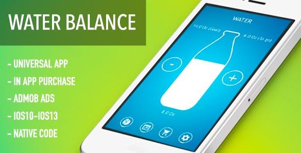 Water Balance Tracker - IOS Source Code