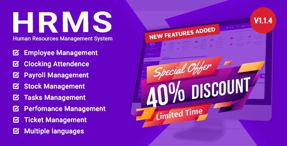 HRM - Human Resource Management System - CodeCanyon Item for Sale
