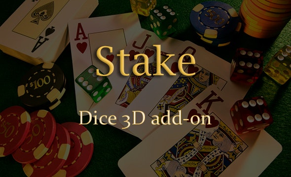 Dice 3D Add-on for Stake Casino Gaming Platform - CodeCanyon Item for Sale