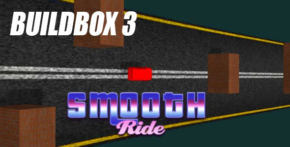 Smooth Ride 3D Buildbox 3 IOS Android