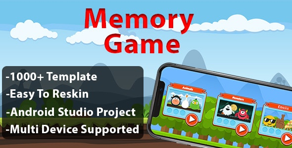 Memory Game - Android - CodeCanyon Item for Sale