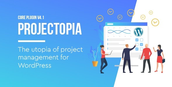 Projectopia - WordPress Project Management Plugin - CodeCanyon Item for Sale
