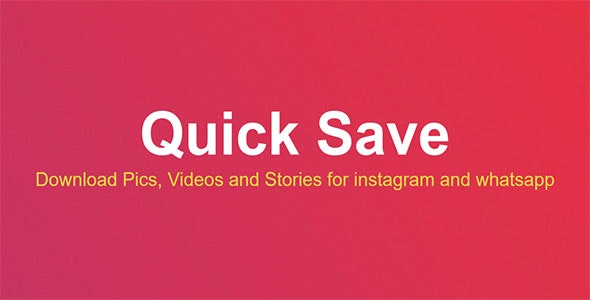Insta Downloader and Story Saver - CodeCanyon Item for Sale