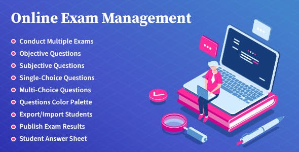 Online Exam Management - Education & Results Management