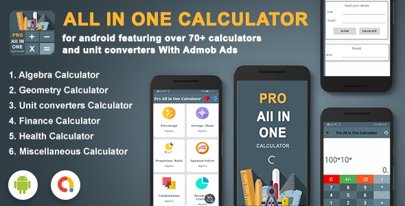 Android Calculator All In One