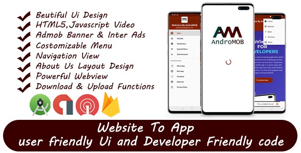 Super Universal Webview Android App With Admob - CodeCanyon Item for Sale