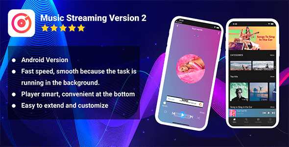 Android Music Streaming (Pro Version) - CodeCanyon Item for Sale