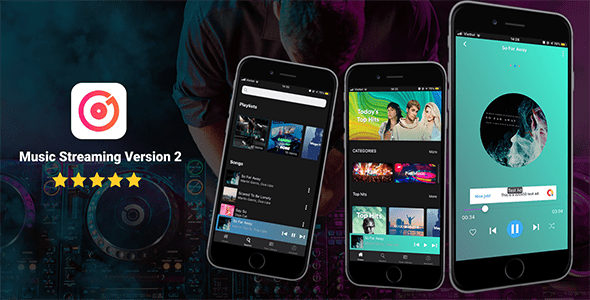 Music Streaming IOS Version - CodeCanyon Item for Sale