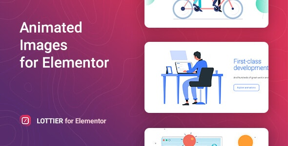 Lottier – Lottie Animated Images for Elementor - CodeCanyon Item for Sale