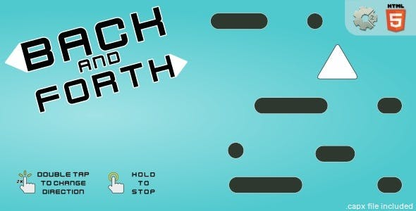 Back and forth - HTML5 Casual game