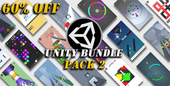 Unity Games Bundle Pack 2 - 60% OFF