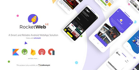RocketWeb   Configurable Android WebView App Template