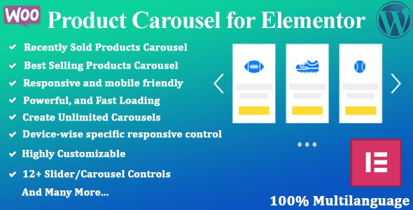 Product Carousel for Elementor - CodeCanyon Item for Sale