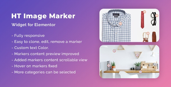 HT Image Marker for Elementor - CodeCanyon Item for Sale