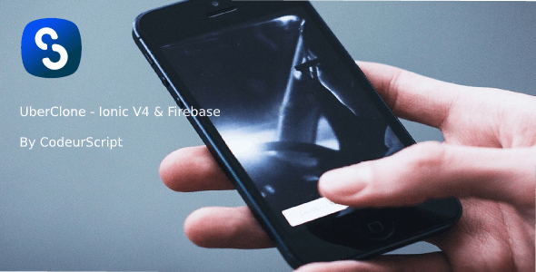 UberClone - Ionic V4 & Firebase