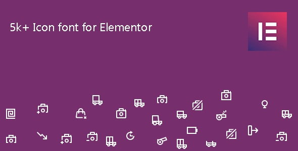 Icon Element - Elementor Page Builder Icon Pack - CodeCanyon Item for Sale