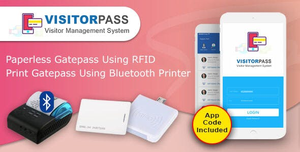 Visitorpass - ( App Based visitor pass )