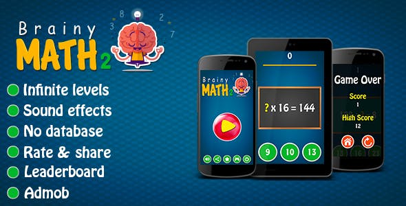 Brainy Math 2 - Android Game