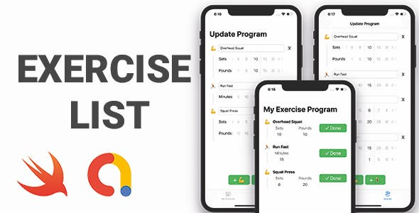 Exercise List