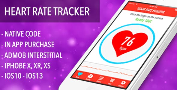 Heart Rate And Pulse Tracker