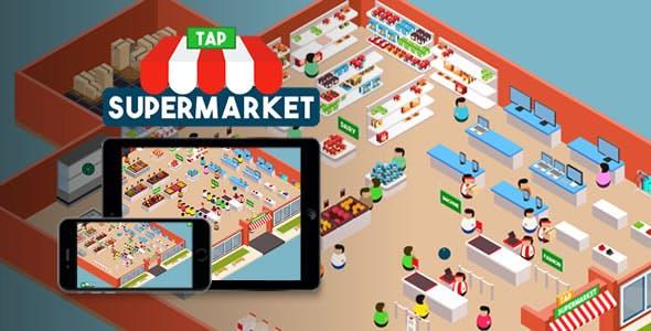 Tap Supermarket - HTML5 Game