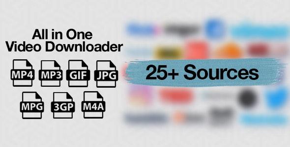 All in One Video Downloader Script v1.6.2 – nulled