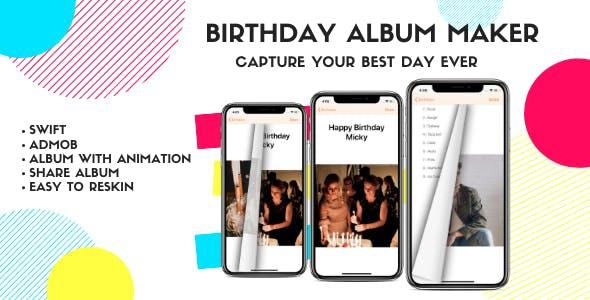Birthday album maker