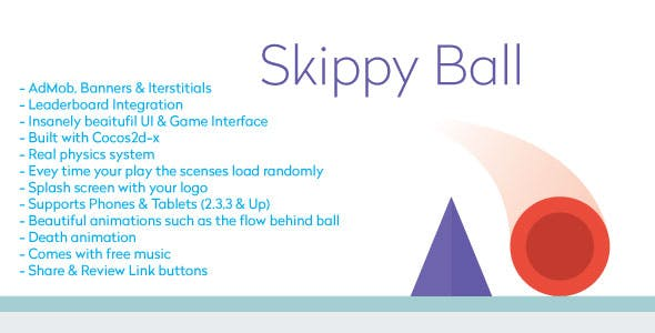 Skippy Ball with AdMob | Games