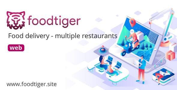FoodTiger - Food delivery - Multiple Restaurants