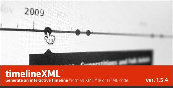 jQuery TimelineXML - CodeCanyon Item for Sale