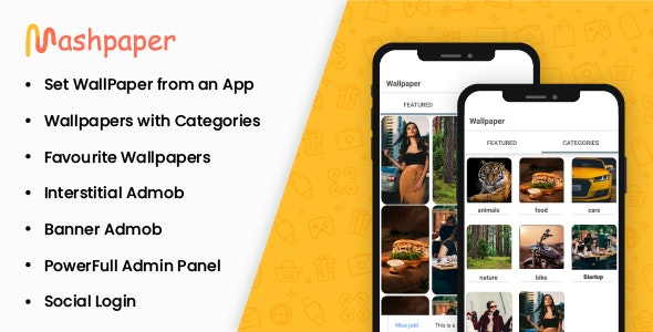 Wallpaper Android Studio Native App With Admin Panel - CodeCanyon Item for Sale