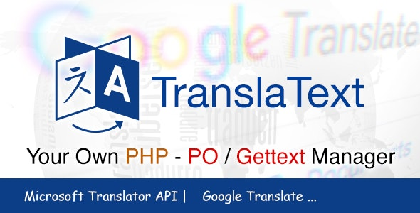 TranslaText - PHP PO/Gettext Manager | Editor | Scanner | Translator - CodeCanyon Item for Sale