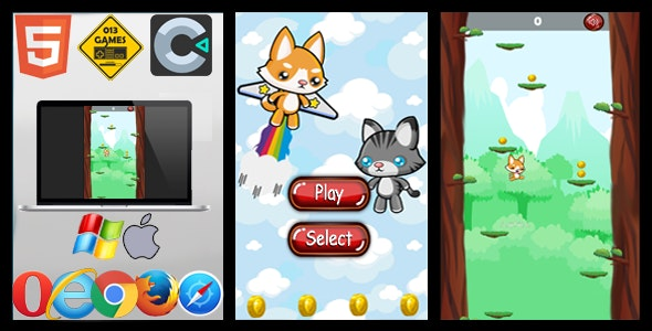Infinity Jump - HTML5 - CodeCanyon Item for Sale