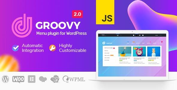 Groovy Mega Menu - Responsive Mega Menu Plugin for WordPress