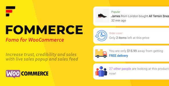 Fommerce - Notifications for WooCommerce