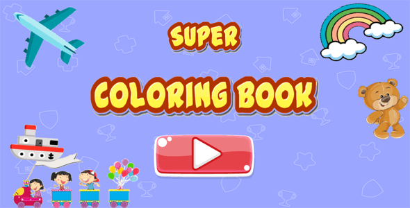 Super Coloring Book - HTML5 - CodeCanyon Item for Sale