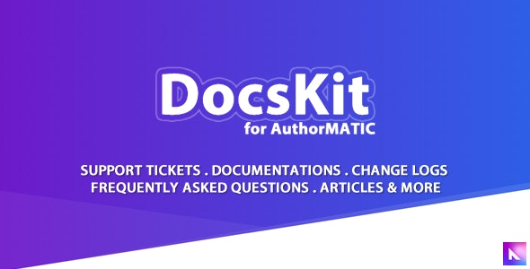 Docskit for AuthorMATIC - CodeCanyon Item for Sale