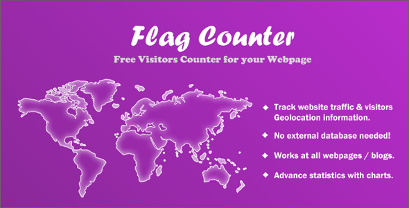 Flag Counter - Advance Visitors Counter - CodeCanyon Item for Sale