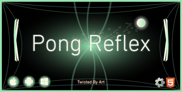Pong Reflex | HTML5 Construct Game - CodeCanyon Item for Sale