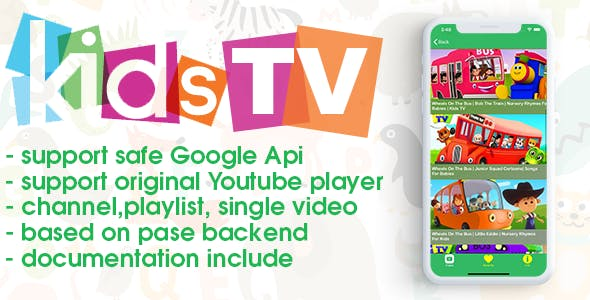 Kids TV (iOS, youtube)
