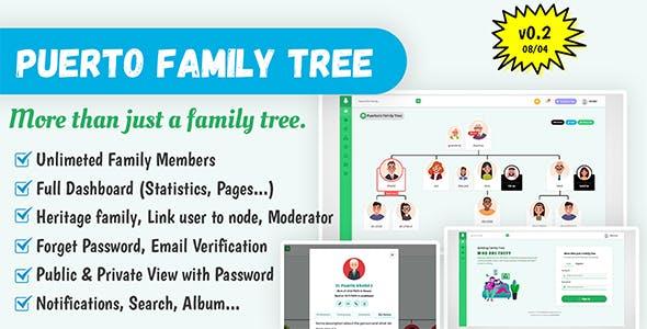 Puerto Family Tree Builder