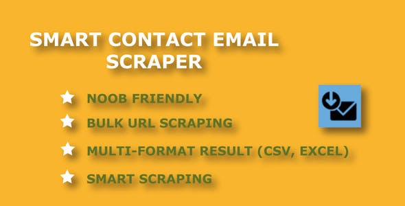 Smart Contact Email Scraper - Easily Extract Contact Emails From Websites