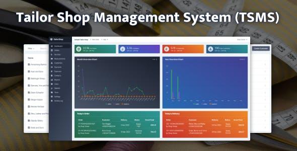 Tailor Shop Management System (TSMS)
