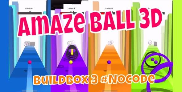 Speedy Ball 3D - Buildbox 3D Hyper Casual Template