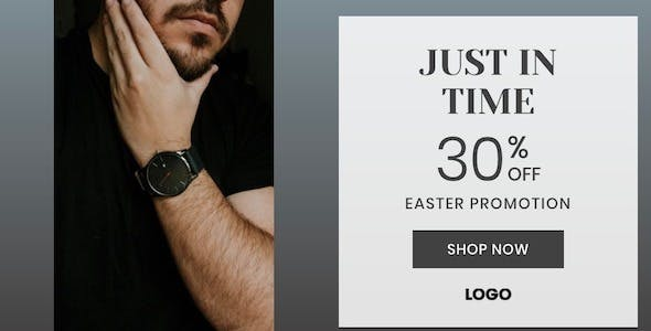 Easter Product (Watch) Sale Ad Banner set