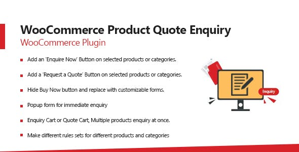 WooCommerce Product Enquiry & WooCommerce Request A Quote Plugin